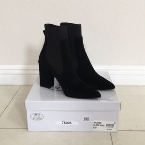 9596d1a8c2e Steve Madden Shoes - Steve Madden Richter Black Sock Booties